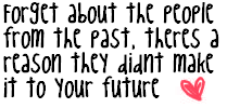 Forget The Past