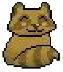 Raccoon pixel