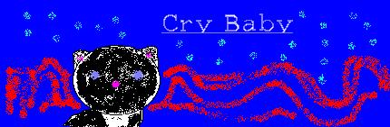 Kitten Crybaby banner.