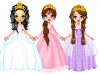 3 pretty princesses