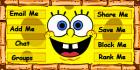 Spongebob Squarepants Contacttable