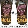 hollister flip flops